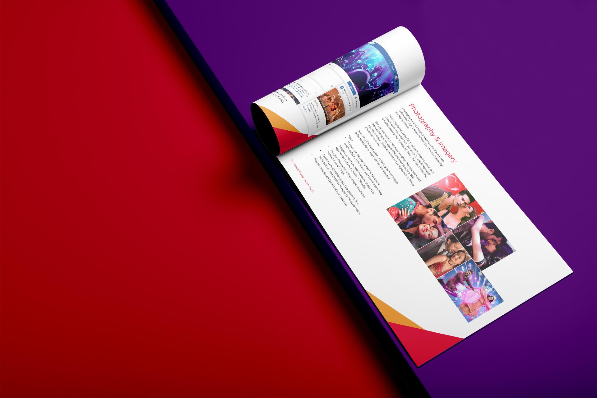 Brand Guideline image, Kuch Kuch