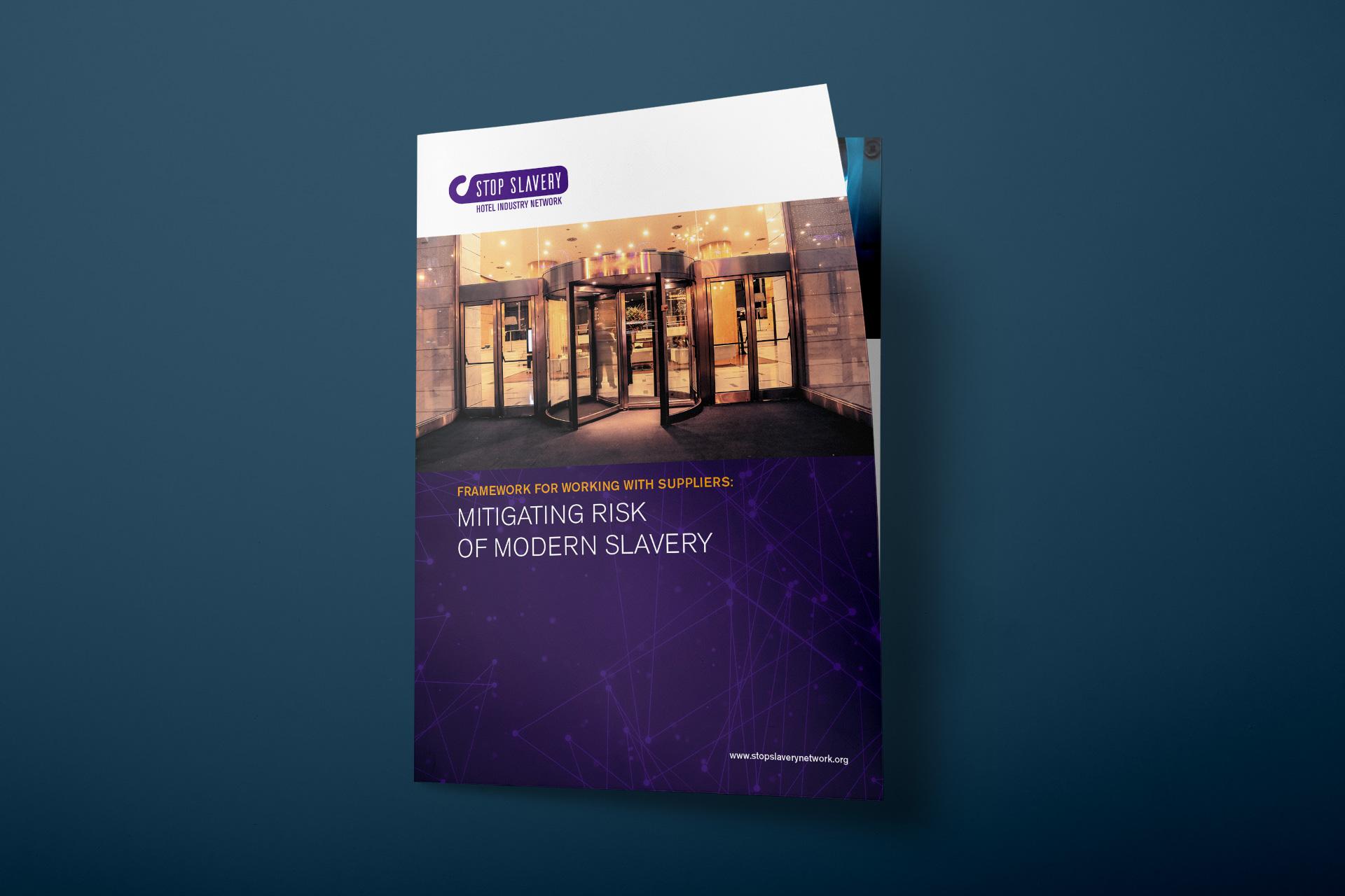 Stop Slavery Network brochure image